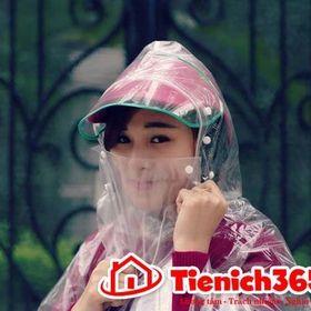 Áo mưa che mặt trong suốt giá sỉ
