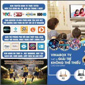 Android tv box vinabox x2 - box tivi internet android chính hãng giá hấp dẫn lõi tứ