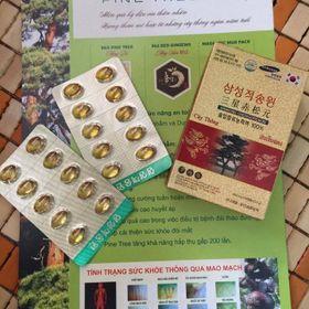 Tinh dầu thông đỏ 100 jeoksongwon hàn quốc 30 viên giá sỉ