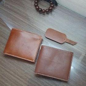 Bóp ví cầm tay da handmade nam giá sỉ