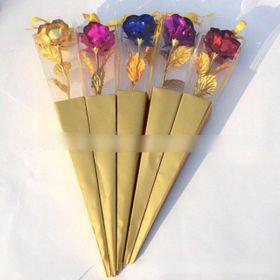 Hoa hồng vàng 1 nhánh có hộp tặng sang trọng giá sỉ