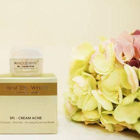 Kem đặc trị ngừa mụn ngừa thâm princess white – spl cream acne giá sỉ