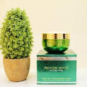 Kem dưỡng trắng da toàn thân princess white – green tea whitening body cream giá sỉ