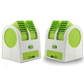 Quạt hơi nước đá mini fan để bàn 2 cửa ra gió giá sỉ