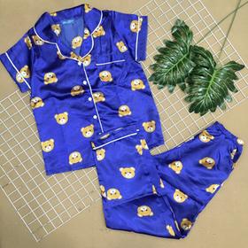 Đồ bộ pijama phi tay ngắn quần dài giá sỉ