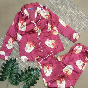 Đồ bộ pijama phi tay dài quần dài giá sỉ
