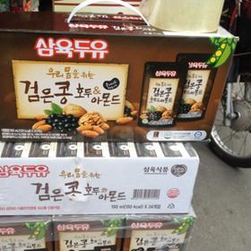 Sữa hạnh nhân óc chó hàn quốc 20 gói giá sỉ