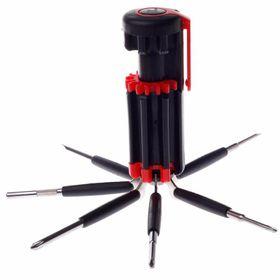 Bộ vặn vít 8 đầu tích hợp đèn pin bộ vít 8in1 giá sỉ