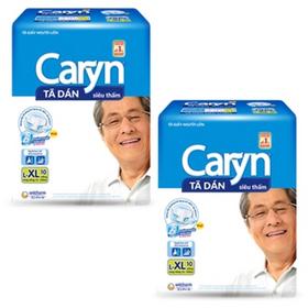 bỉm dán Caryn XL10 giá sỉ