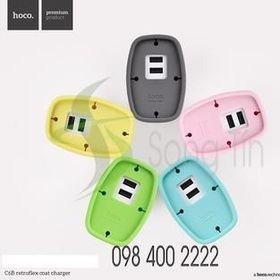 HOCO - Cóc Sạc C6B 2 Cổng USB giá sỉ