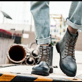 Giày Boot Nam Cổ Cao Bao Chất giá sỉ