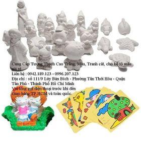 Bán sỉ tượng thạch cao giá sỉ từ 400đ - 4000đ/con - bán buôn sỉ tranh cát giá rẻ giá sỉ