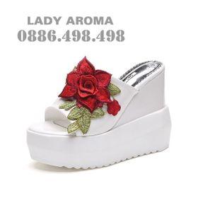 Dép đế xuồng thời trang HQ LADY AROMA