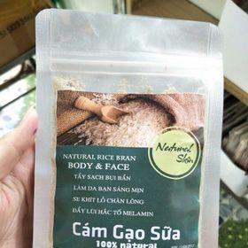 🥛Bột cám gạo Sữa Natural Spa 100 giá sỉ