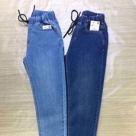 quần jean lưng thun