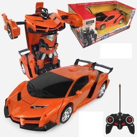 Xe biến hình robot có điều khiển size 25cm giá sỉ