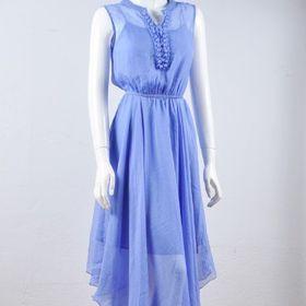 Đầm nữ voan 9811 giá sỉ