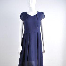 Đầm nữ voan đai eo giá sỉ