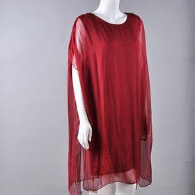 Đầm lụa tơ tằm 8589 giá sỉ