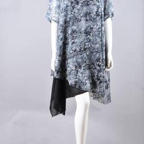 Đầm voan nữ bông lúa giá sỉ