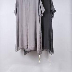 Đầm nữ lụa tơ tằm giá sỉ
