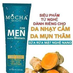 sữa rửa mặt nghệ dành cho nam và nữ da mụn nhạy cảm giá sỉ