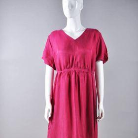 Đầm nữ lụa tầm 01 giá sỉ