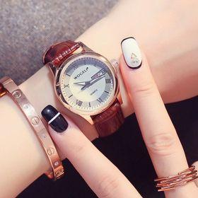 đồng hồ nử dây da giá sỉ