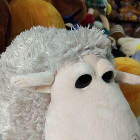 Thú bông cừu má xoắn thiên thần