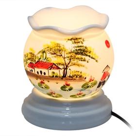đèn xông tinh dầu gốm sứ Bát Tràng loại trung giá sỉ