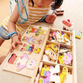 Bộ đồ chơi xếp hình Nhà Gấu - Puzzle Bear giá sỉ
