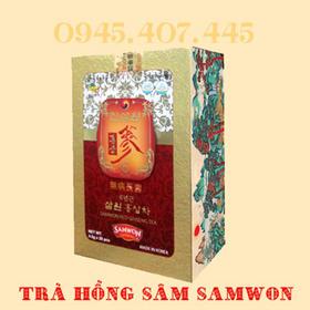 Thực phẩm bảo vệ sức khỏe Trà Hồng sâm Samwon giá sỉ