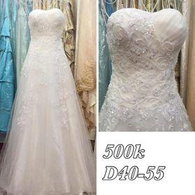 Váy cưới trắng 500 giá sỉ