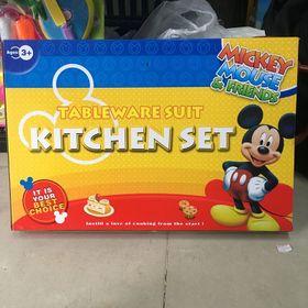 Bộ bếp dĩa bàn ăn Mickey giá sỉ