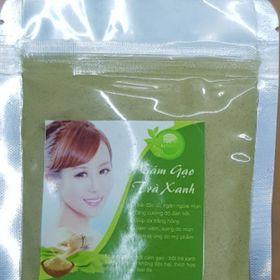 Bột cáo gạo trà xanh 110g nguyên chất Sỉ 16k giá sỉ