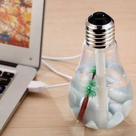 Máy xông tinh dầu hình bóng đèn