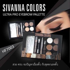 Set trọn bộ Định Hình vẽ Chân Mày chuyên nghiệp Sivanna Ultra Brow HF7003 Thái Lan sỉ 75k giá sỉ