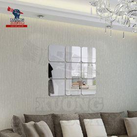 Gương dán trang trí nội thất mã G20 20x20cm dày 1mm giá sỉ