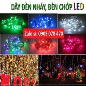 Bóng đèn chớp nháy dài 5m bóng LED giá sỉ