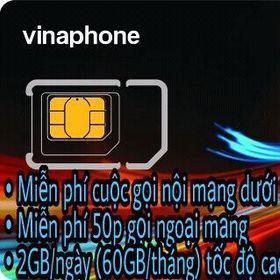 SIM VINA 62GB/THÁNG VD89 giá sỉ