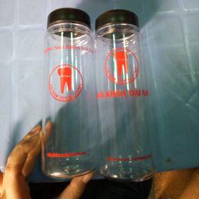 Bình Nước My Bottle In logo công ty 1 màu