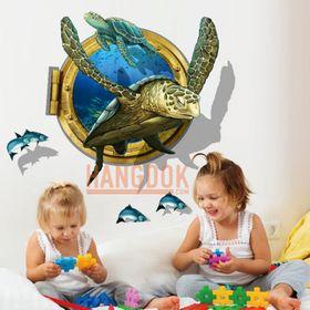 Đồ trang trí 3D phòng ngủ của bé hình rùa biển giá sỉ