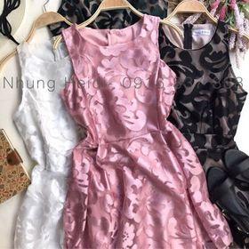 Đầm ren vạt xéo v giá sỉ