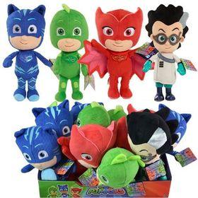 Thú nhồi bông PJ Masks Bean Plush Cat Boy Owlette Gekko and Romeo giá sỉ