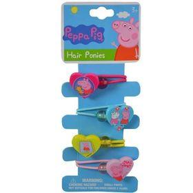 Bộ 4 dây cột tóc Peppa Pig Hair Ponytails giá sỉ