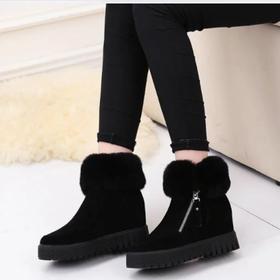 Boots Cổ Lông - Vũ khí Bí Mật Giúp Bạn Cao Thêm 8cm