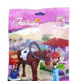 Lắp ráp Fashion 45 mảnh ghép Trại nuôi ngựa Mã sản phẩm 24208 giá sỉ