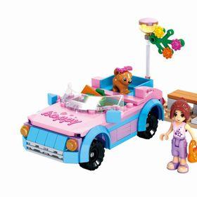 Lắp ráp FairyLand 145 mảnh ghép Xe trạm bơm nước Mã sản phẩm giá sỉ