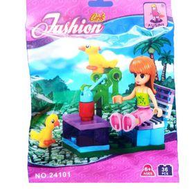 Túi Lắp ráp Fashion 36 mảnh ghép Trại bơm nuôi vịt Mã sản phẩm 24101 giá sỉ