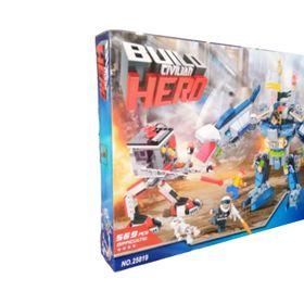 Lắp ráp Build Hero 569 mảnh ghép Robo Mã sản phẩm 25819 giá sỉ